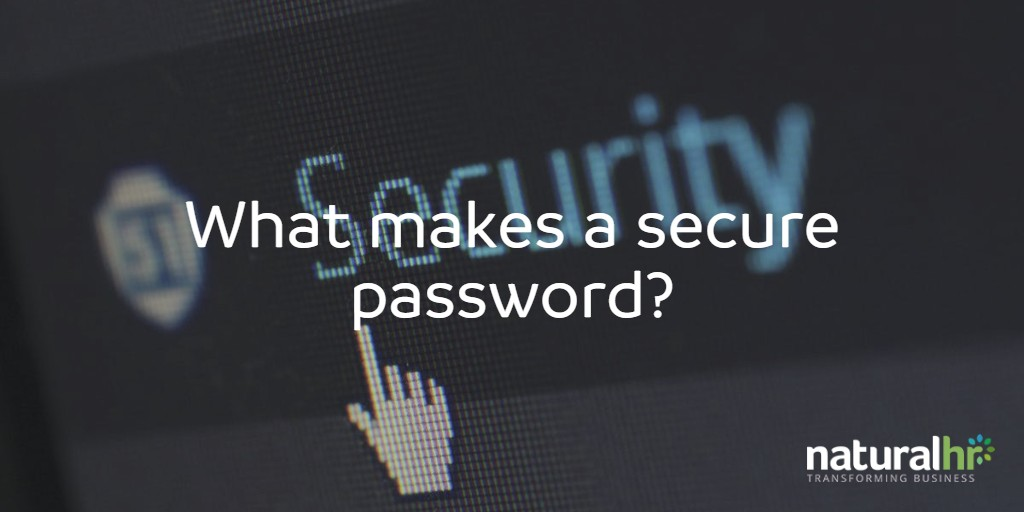 What Is A Secure Password